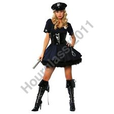 Police Woman Lady Cop Officer WPC Fancy Dress Costume Hen Party Truncheon Cuffs