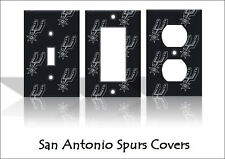 San Antonio Spurs Light Switch Covers Basketball NBA Home Decor Outlet