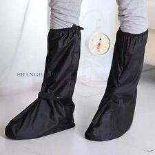 Men Women Flat Shoes Cover Boot Motorcycle Rain Protector Non Slip Zipper New