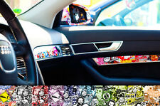 Car Decal Sticker Bomb Foil 3 Sizes and 2 Colors DUB DUBWAY