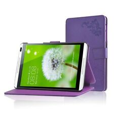 """For Huawei MediaPad M1 8.0"""" Tablet  Folio Stand Case Cover Protective Skin"""