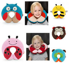New Baby Sleep Positioners Zoo Car Seat Travel Neck Rest Soft Plush Toy Pillow