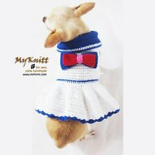 Sailor Dog Clothes July 4th Pet Clothing American Fourth Of July Cute DK957