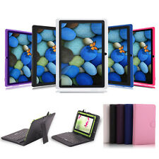 """IRULU 7"""" Android 4.1 Tablet Capacitive Dual Cameras Cortex A9 1.2GHz w/ Keyboard"""