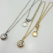 Free shipping Marc by M Jacobs Diamond Necklace Gold/ Silver #N622X