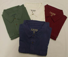 Mens IZOD Luxury Sport Short Sleeve Polo Shirt 4 Colors, Multiple Sizes NWT $44