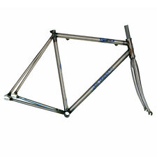 Blue Murder - Steamhammer Fixie Frame & Fork RAW (Fixed Bicycle/Bike) - SALE