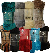 Faux Mink Fur Throws - 150*200cm - In ten colours - Soft and fluffy - Sofa Throw
