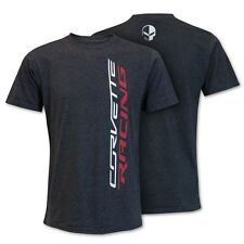 C7R JAKE CORVETTE RACING VERTICAL TSHIRT DARK GRAY BUDS CHEVROLET ST MARYS