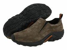 Men's Merrell Jungle Moc Slip On Shoe Gunsmoke Grey Suede J60787