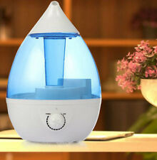 Ultrasonic Air Purifier Aroma Therapy Diffuser Drop Shape Cool Mist Humidifier