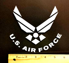 U.S AIR FORCE VINYL DECAL, STICKER  5 1/2 INCHES