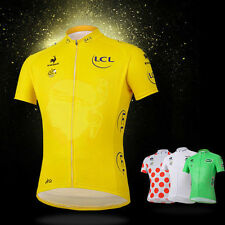 2014 Tour Le France Cycling Jersey Cycle Short Sleeves Shirt Bicycle Jersey New
