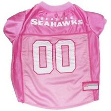 Officially Licensed Pets First NFL Seattle Seahawks Dog Pink Jersey Sizes XS-L