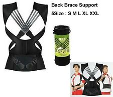 Babaka 221 3D Therapy Back Shoulder Support Brace Straightener Posture Corrector