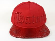 SICKOUTFITS GOTHIC RED Hater Snapback Hat
