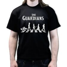The Guardians Abbey Road of Galaxy Beatles Tribute T-shirt P778