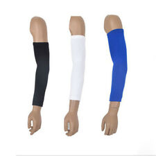 Sports Armlet Cover Basketball Bike Arm Long Sleeve Guard Protector Cotton