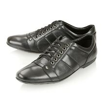 MENS CLASSIC ITALIAN STYLE DESIGNER INSPIRED PU LEATHER CASUAL LACE UP SHOES