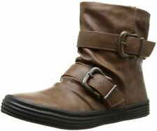 Blowfish Octave Whiskey PU New Womens Winter Cheap Ankle Boots Shoes