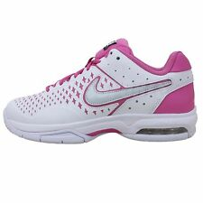 Nike Wmns Air Cage Advantage 2014 White Pink Womens Tennis Shoes Max Sneakers