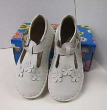 Boutique Toddler Girls Shoes White Leather Coco Jumbo