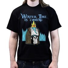 Adventure Winter Time Is Coming Game of Throne Season 4 5 dvd T-shirt P824