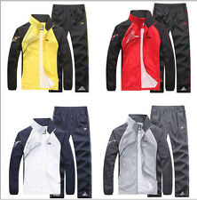 Hot New Mens Spring&Autumn Activewear Jogging Suits Jacket Pants tracksuit Sport