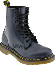 Women's Dr Martens 1460 Womens 8 Eye LaceUp Boot Navy Smooth R11821410