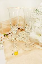 Personalized Wedding Toasting Flutes Champagne Sets Anniversary Glass