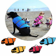 PET PRESERVER Dog Life Vest Jacket Aquatic Safety Collar All Sizes 0-50kg
