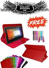 "NUOVO UNIVERSALE IN PELLE STAND Cover Custodia per 7 "" 7 inch Tab Android Tablet PC"