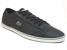 Lacoste WYKEN  Mens  Fashion Casual  Black Leather Shoes Sneakers