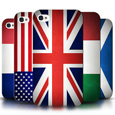 STUFF4 Back Case/Cover/Skin for Apple iPhone 4/4S/Flags