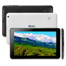 """New iRULU 9"""" Android 4.4 Tablet PC Quad Core 8GB WIFI HD Capacitive Screen &Case"""