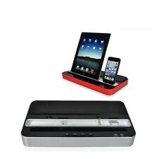 Multi-Function Docking Station Charger Speaker for iPod iPad 2 3 4 iPhone 5 4 4S