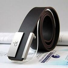Hot new Leather Belt Metal Buckle Belt Dress Casual Genuine Leather Belt