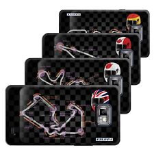 STUFF4 Back Case/Cover/Skin for Samsung Galaxy S2/SII/2014 F1 Track