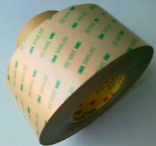 3M 9495le Double Sided VHB Tape, 300 LSE Adhesive - 2'' Waterproof Transfer Tape