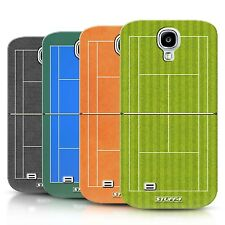 STUFF4 Back Case/Cover/Skin for Samsung Galaxy S4/SIV/Tennis Courts