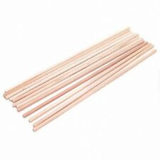 """Wooden Dowel Rods 1/4"""" x 12"""" Lot of 12 50 100 250 500 1000 Cake Tiered Crafts"""
