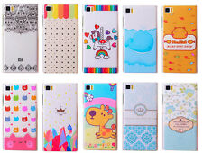 New Cute Cartoon Lovely Hard Back Case Cover For Xiaomi 3 Redmi Samsung Galaxy