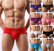 Trunks Sexy Underwear Men Men's Boxer Briefs Shorts Bulge Pouch soft Underpants