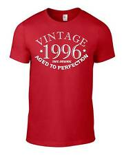 18th Birthday Gift Present Vintage 1996 Aged To Perfection Unisex Funny T-Shirt