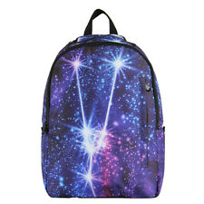 VNT Galaxy Pattern Printed Backpack Unisex Book Bag Travel Day Pack Campus Bag