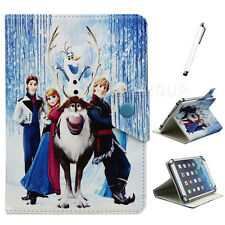 "Universal Disney Frozen PU Leather Case Cover for 7"" inch Android Tablet PC New"