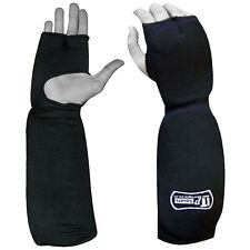 Forearm Protector / Pad with Fist Mitts Elbow Arm Guard Adults