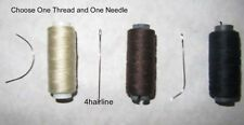 HAIR EXTENSION 1 HAIR WEAVING THREAD AND ONE NEEDLE