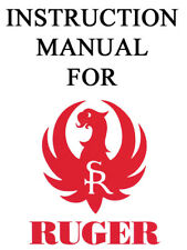 Ruger Pistol Rifle Shotgun Owner Instruction Manual #2