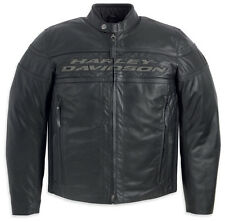 Harley Davidson Men Competition III 3 Waterproof Leather Jacket L XL 98024-12VM